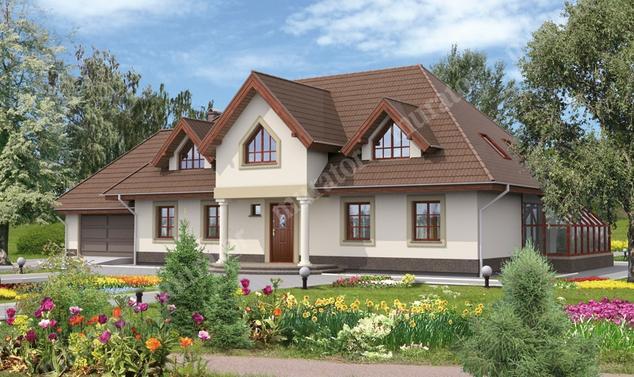 Projekt domu:  Murator C20   – Dworek