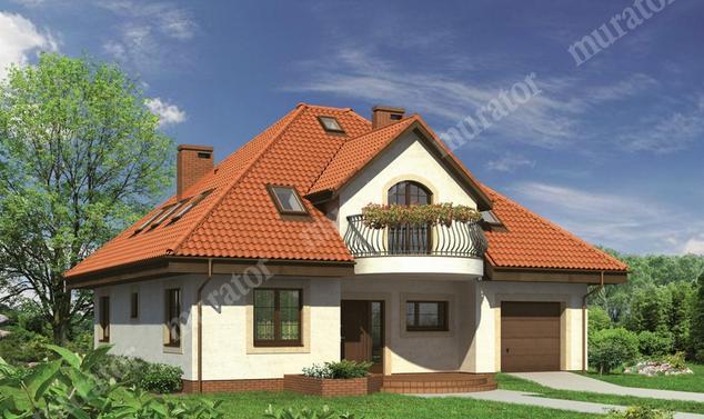 Projekt domu:  Murator M68   – Dobra wróżba